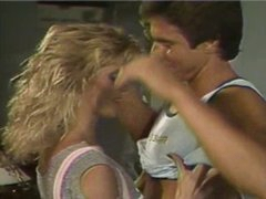 Ginger Lynn &,amp, Peter North in  &,#039,Wild Weekend&,#039, (1984)