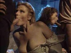 Medieval orgy