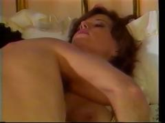 Vintage porn with this dark brown sucking and fucking hard cock