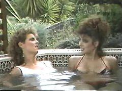 Erica Boyer &,amp, Christy Canyon in the Hot Tub