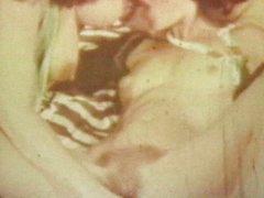 Kinky vintage 3some