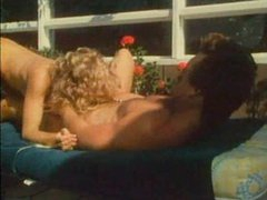 Retro curly hair girl fucked hard outdoors