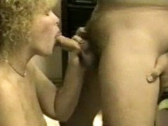 Wife sucking cock